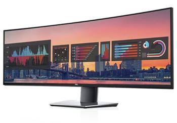 21% de descuento en Monitor curvo, Dell UltraSharp