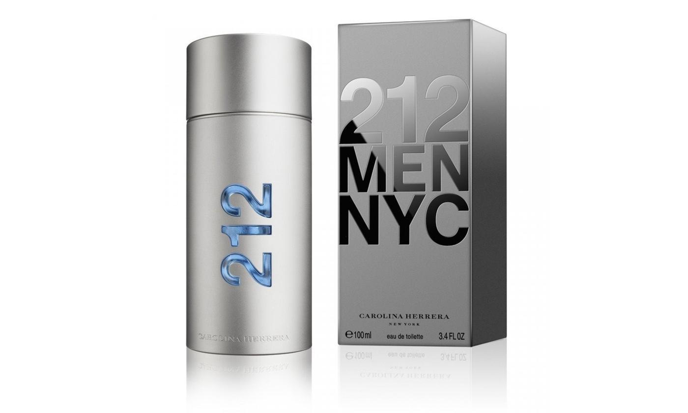 42% de descuento en perfume 212 NYC Carolina Herrera 3.4 OZ 100 ML EDT para hombres