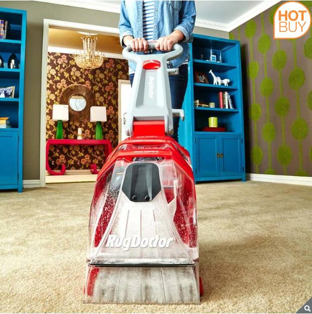 14% Off Rug Doctor Deep Carpet Cleaner with 2 x 1L Carpet Detergent