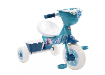 15% Off Huffy Disney Frozen Secret Storage Tricycle - Blue color