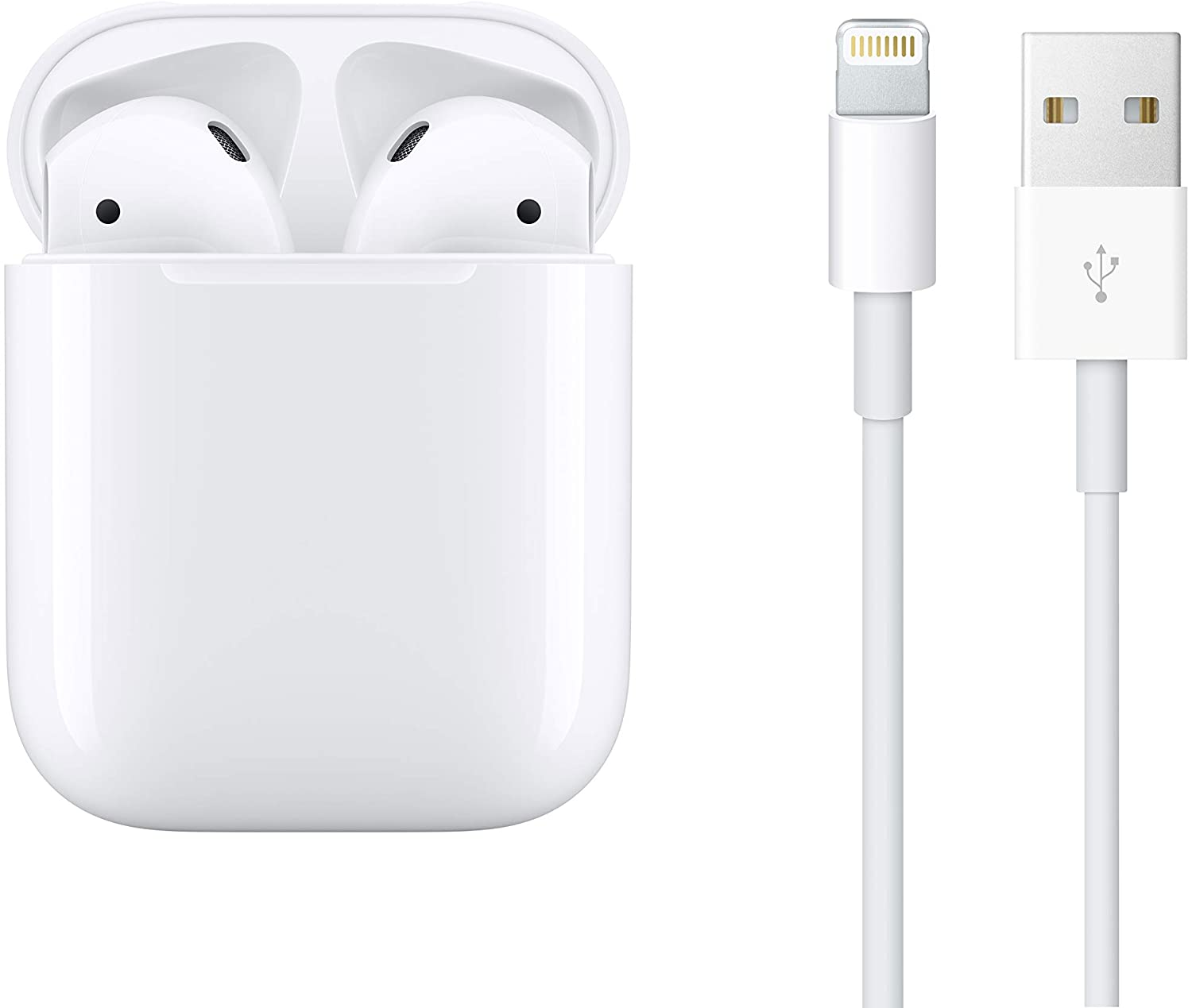 28% off Apple AirPods with Charging Case (Wired)