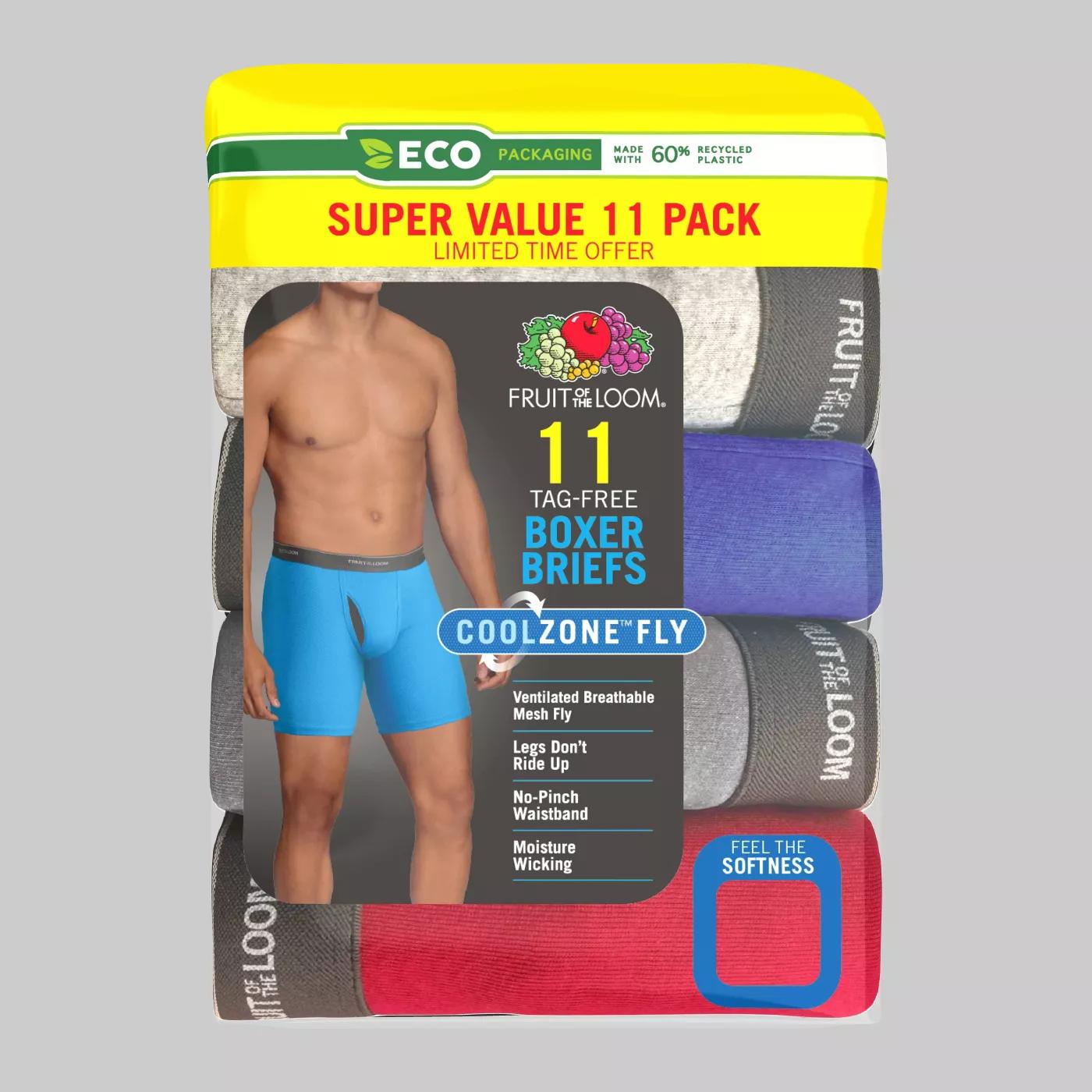 15% Off Bóxer Coolzone Super Value Pack 5+6 for men's