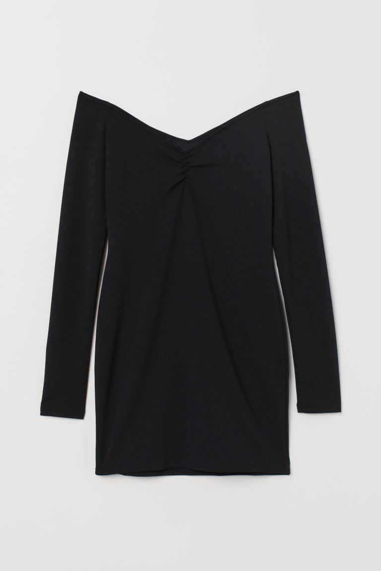 44% Off Black Fitted dress
