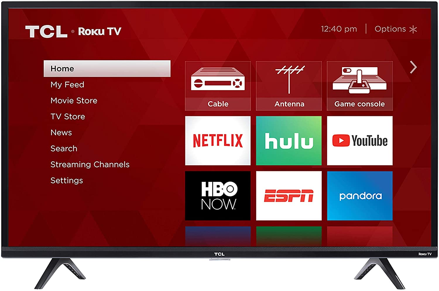 37% Off TCL 43S325 43 Inch 1080p Smart LED Roku TV (2019)