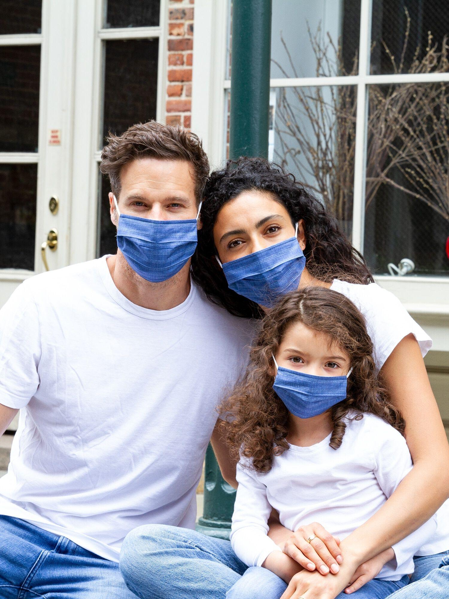 30% Off Family Unisex Full-Coverage Accordion Mask (8-Pack)