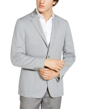 85% Off Calvin Klein Men's Slim-Fit Knit Sport Coat